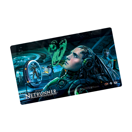 Коврик FFG Android: Netrunner Playmat: Creation and Control