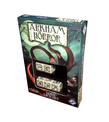 Набор кубиков Arkham Horror Bone Dice Set