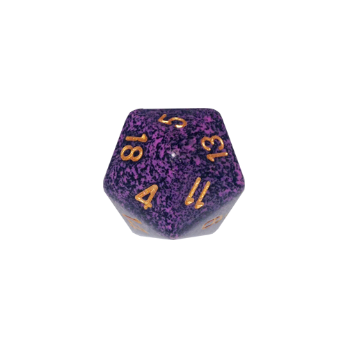 Кубик Chessex 34mm d20 Speckled™ Hurricane