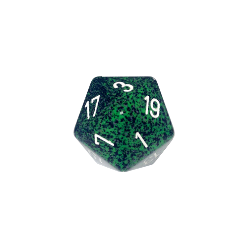Кубик Chessex 34mm d20 Speckled™ Recon