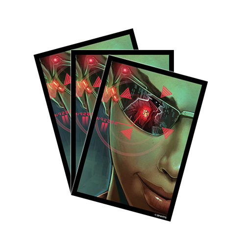 Протекторы FFG Android: Netrunner Art Sleeves: Posted Bounty