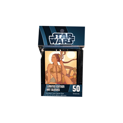 Протекторы FFG Star Wars Art Sleeves: Princess Leia (Limited Edition)