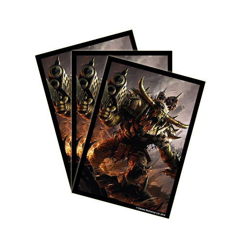 Протекторы FFG Warhammer 40,000 Art Sleeves: Orks