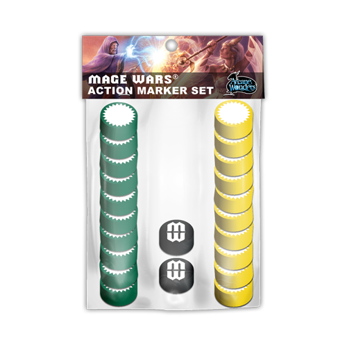 Набор фишек Mage Wars Action Marker Set