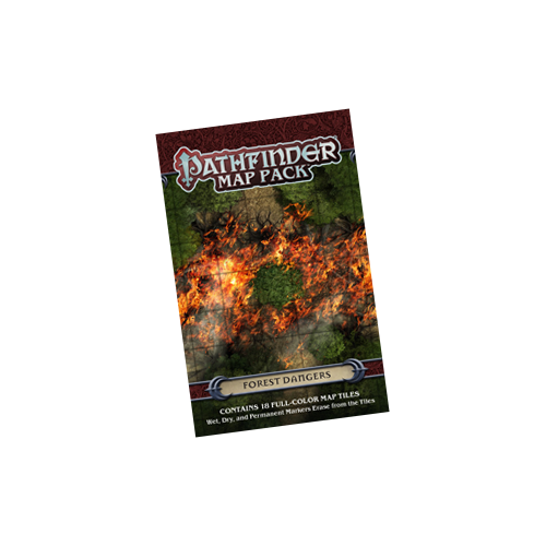 Набор террейна Pathfinder RPG: Map Pack - Forest Dangers