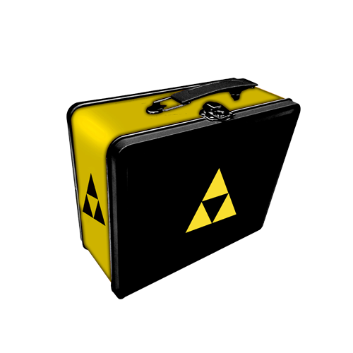 Коробка для хранения Legion - Iconic: Triforce Tin