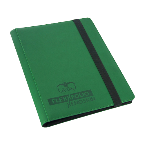Альбом для карт Ultimate Guard FlexXfolio XenoSkin™ 9-Pocket Green