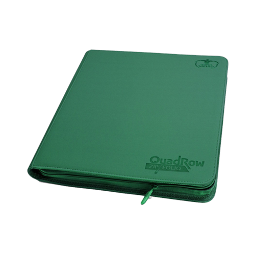 Альбом для карт Ultimate Guard QuadRow Zipfolio™ Green