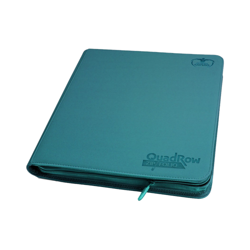 Альбом для карт Ultimate Guard QuadRow Zipfolio™ Petrol