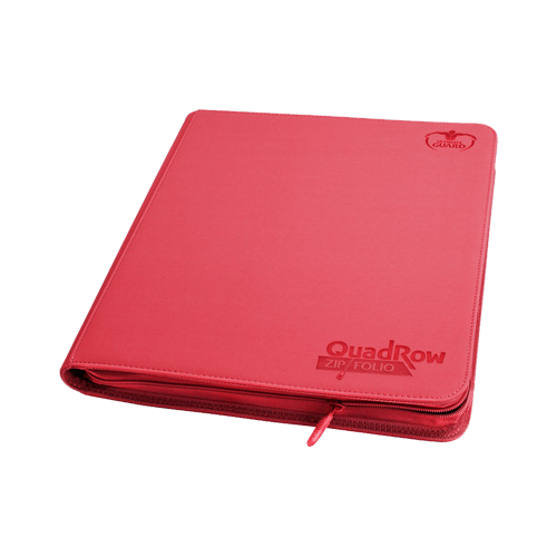 Альбом для карт Ultimate Guard QuadRow Zipfolio™ Red