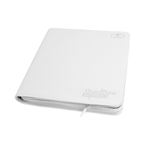 Альбом для карт Ultimate Guard QuadRow Zipfolio™ White
