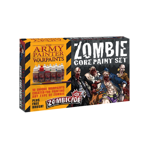 Набор красок Warpaints Zombicide Core Zombie Set