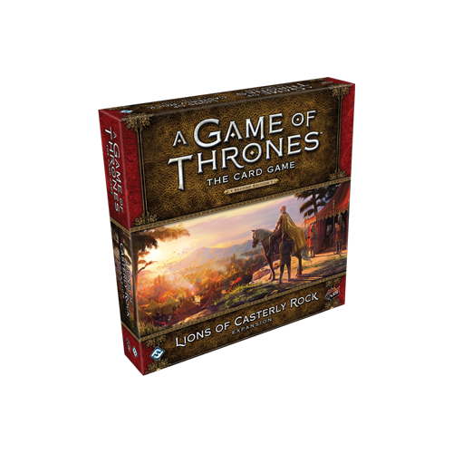 Дополнение к настольной игре A Game of Thrones: The Card Game (Second Edition) – Lions of Casterly Rock