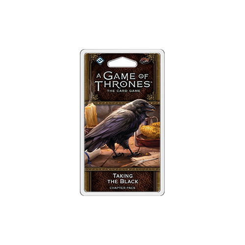 Дополнение к настольной игре A Game of Thrones: The Card Game (Second Edition) – Taking the Black