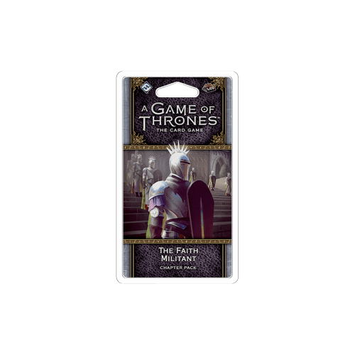 Дополнение к настольной игре A Game of Thrones: The Card Game (Second Edition) – The Faith Militant