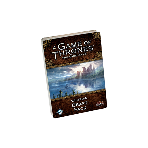Дополнение к настольной игре A Game of Thrones: The Card Game (Second Edition) – Valyrian Draft Pack