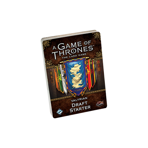 Дополнение к настольной игре A Game of Thrones: The Card Game (Second Edition) – Valyrian Draft Starter