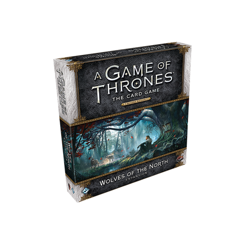 Дополнение к настольной игре A Game of Thrones: The Card Game (Second Edition) – Wolves of the North