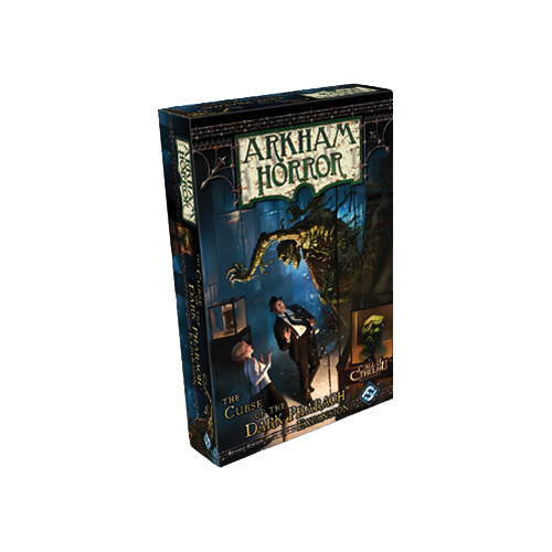 Дополнение к настольной игре Arkham Horror: The Curse of the Dark Pharaoh Expansion (Revised Edition)