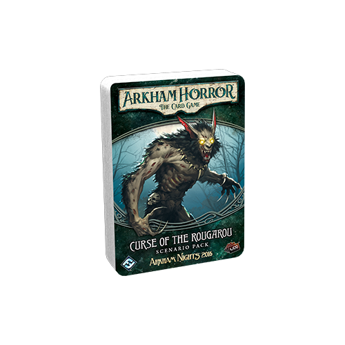 Дополнение к настольной игре Arkham Horror: The Card Game – Curse of the Rougarou: Scenario Pack