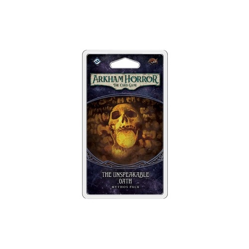 Дополнение к настольной игре Arkham Horror: The Card Game – The Unspeakable Oath Mythos Pack