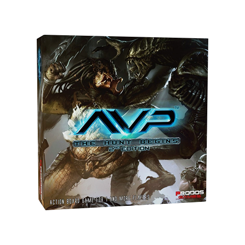 Настольная игра Alien vs Predator: The Hunt Begins (Second Edition)