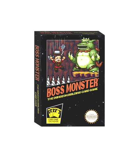 Настольная игра Boss Monster: The Dungeon Building Card Game