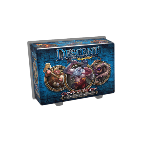 Дополнение к настольной игре Descent: Journeys in the Dark (Second Edition) – Crown of Destiny