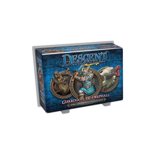 Дополнение к настольной игре Descent: Journeys in the Dark (Second Edition) – Guardians of Deephall