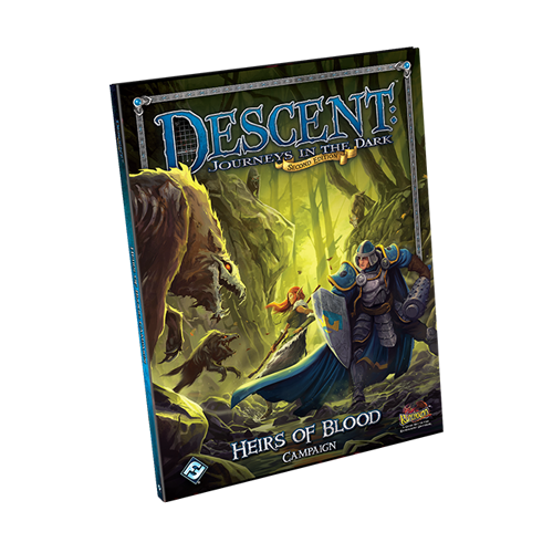 Дополнение к настольной игре Descent: Journeys in the Dark (Second Edition) – Heirs of Blood