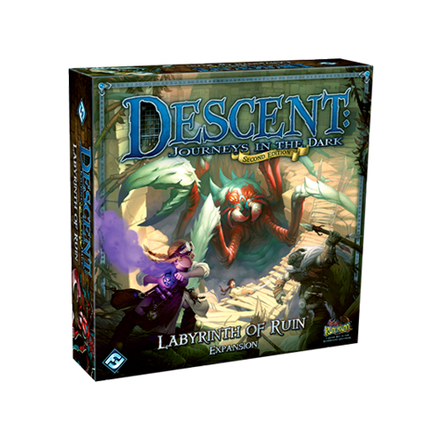Дополнение к настольной игре Descent: Journeys in the Dark (Second Edition) – Labyrinth of Ruin