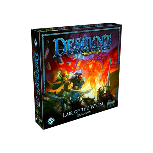 Дополнение к настольной игре Descent: Journeys in the Dark (Second Edition) – Lair of the Wyrm