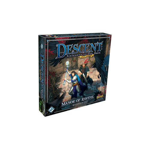 Дополнение к настольной игре Descent: Journeys in the Dark (Second Edition) – Manor of Ravens