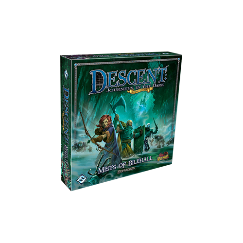 Дополнение к настольной игре Descent: Journeys in the Dark (Second Edition) – Mists of Bilehall