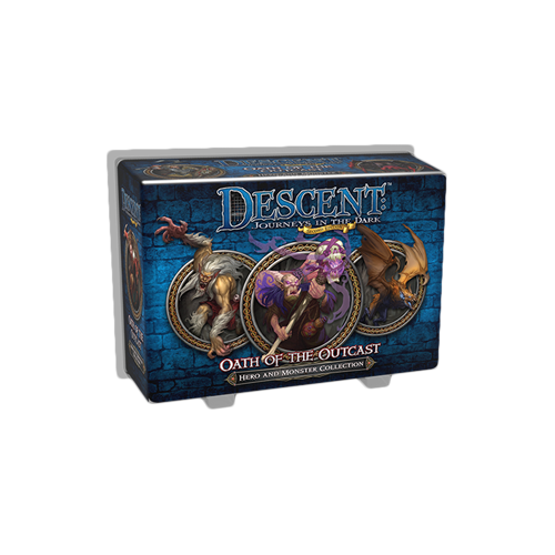 Дополнение к настольной игре Descent: Journeys in the Dark (Second Edition) – Oath of the Outcast