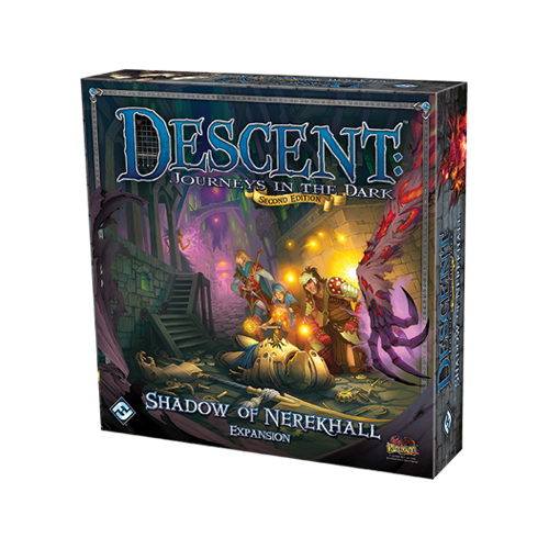 Дополнение к настольной игре Descent: Journeys in the Dark (Second Edition) – Shadow of Nerekhall