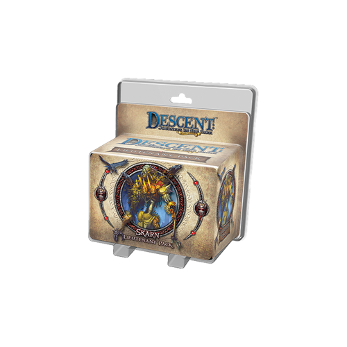 Дополнение к настольной игре Descent: Journeys in the Dark (Second Edition) – Skarn Lieutenant Pack