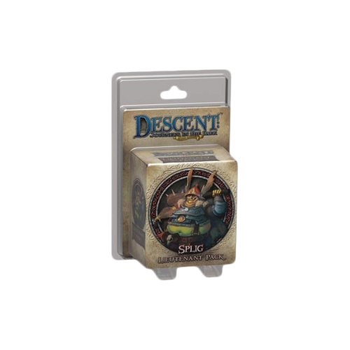 Дополнение к настольной игре Descent: Journeys in the Dark (Second Edition) – Splig Lieutenant Pack
