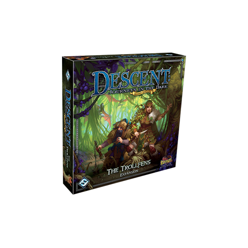 Дополнение к настольной игре Descent: Journeys in the Dark (Second Edition) – The Trollfens
