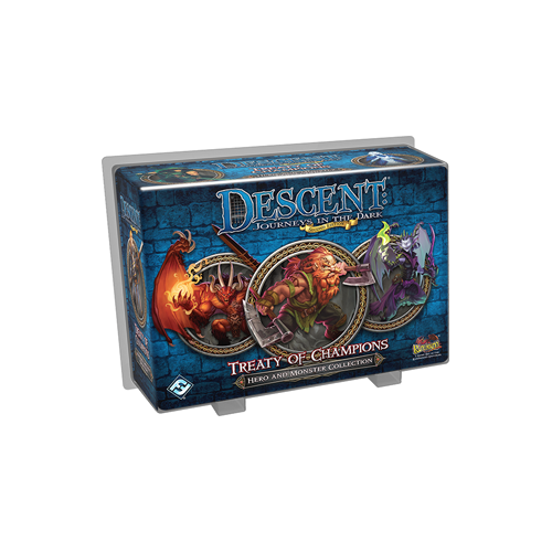 Дополнение к настольной игре Descent: Journeys in the Dark (Second Edition) – Treaty of Champions