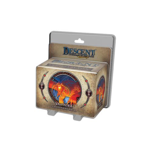 Дополнение к настольной игре Descent: Journeys in the Dark (Second Edition) – Valyndra Lieutenant Pack