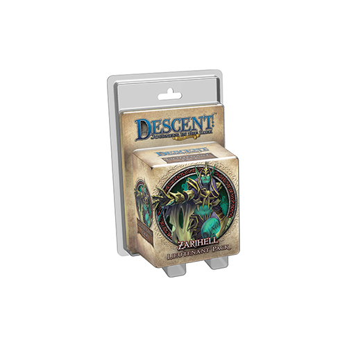 Дополнение к настольной игре Descent: Journeys in the Dark (Second Edition) – Zarihell Lieutenant Pack