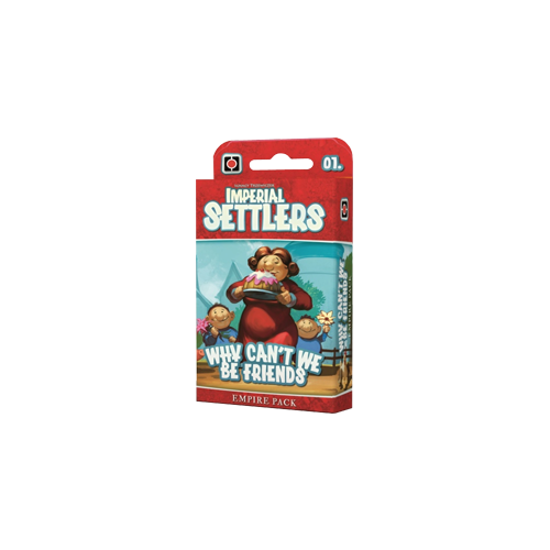 Дополнение к настольной игре Imperial Settlers: Why Can't We Be Friends