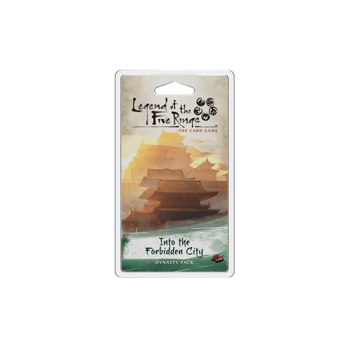 Дополнение к настольной игре Legend of the Five Rings: The Card Game – Into the Forbidden City