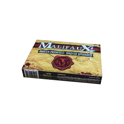 Дополнение к настольной игре Malifaux Second Edition Broken Promises Master Upgrades