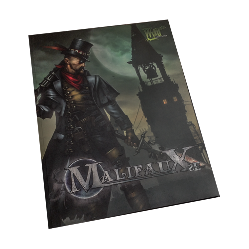 Настольная игра Malifaux Second Edition Rulebook