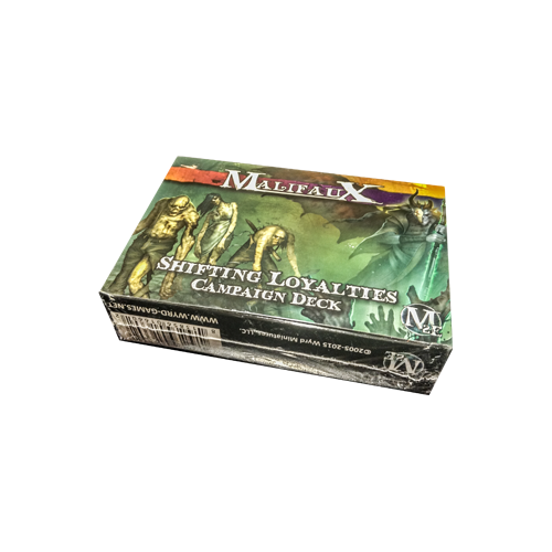 Дополнение к настольной игре Malifaux Second Edition Shifting Loyalties Campaign Deck