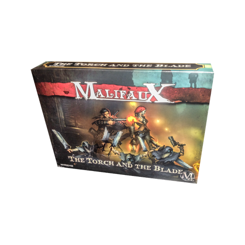 Дополнение к настольной игре Malifaux Second Edition - The Torch And The Blade