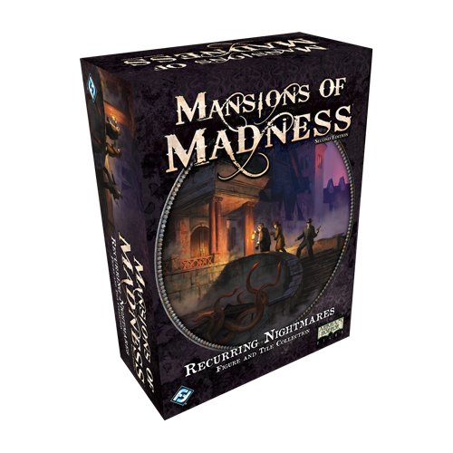 Дополнение к настольной игре Mansions of Madness: Second Edition – Recurring Nightmares Figure and Tile Collection
