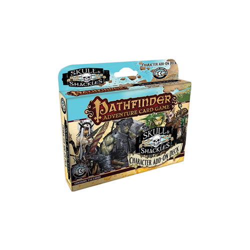 Дополнение к настольной игре Pathfinder Adventure Card Game: Skull & Shackles – Character Add-On Deck